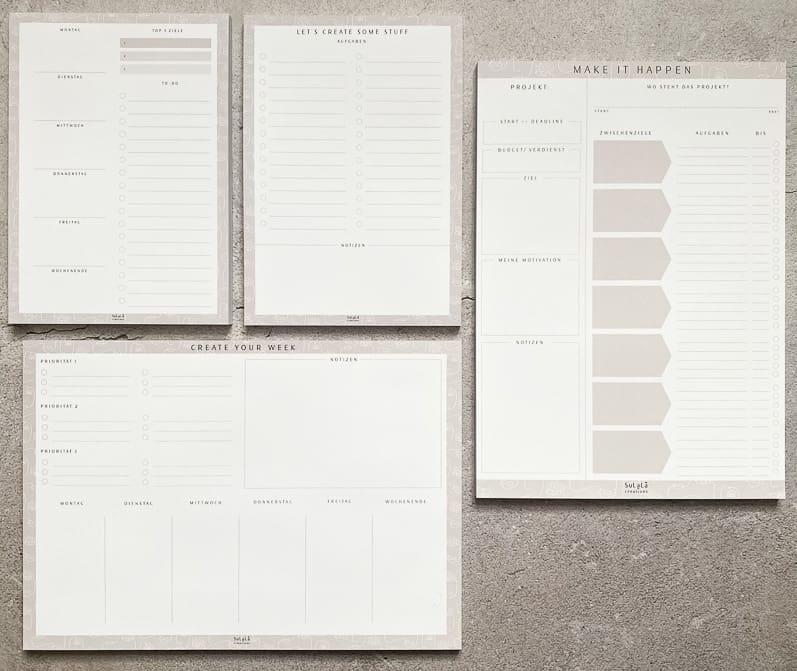 Projektplaner Kalender Wochenplaner Tagesplaner To Do Liste