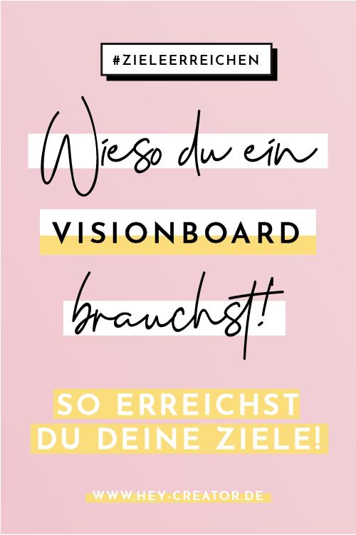 Pinterest Visionboard